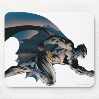 Batman sautant la vue de côté tapis de souris