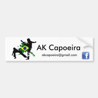 Bâton de pare-chocs d'AK Capoeira Brésil Autocollant Pour Voiture