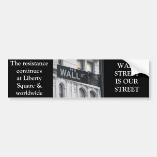 BÂTON WALL STREET ADHÉSIF POUR VOITURE