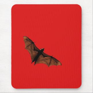 Batte rouge tapis de souris