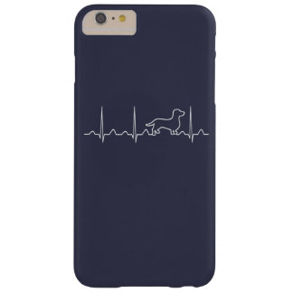 Battement de coeur de teckel coque barely there iPhone 6 plus