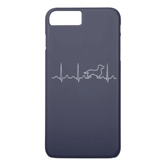 Battement de coeur de teckel coque iPhone 7 plus