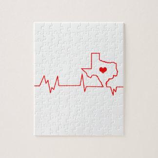 Battement de coeur du Texas Puzzle