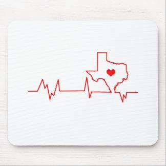 Battement de coeur du Texas Tapis De Souris