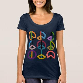 Battement de paix/prochain T-shirt de niveau de