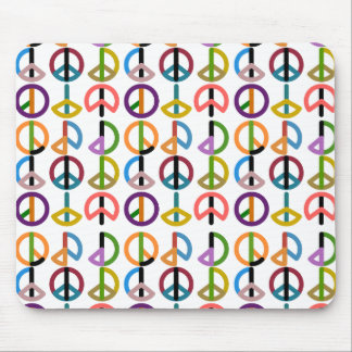 Battement/Mousepad de paix Tapis De Souris