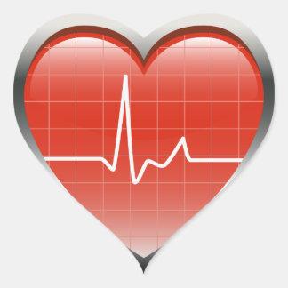 Battements de coeur autocollants