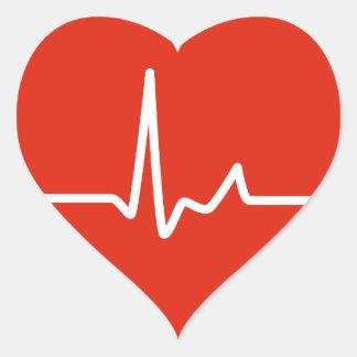 Battements de coeur sticker cœur