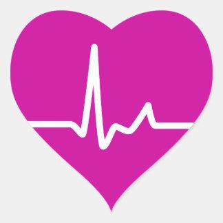 Battements de coeur adhésifs