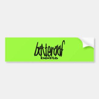 Batteraaf-Battements Autocollant De Voiture
