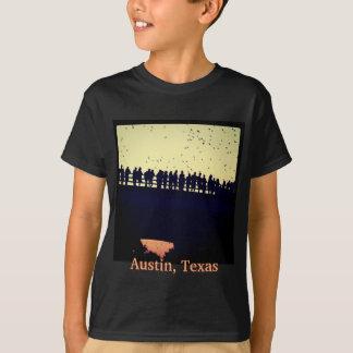 Battes de pont d'avenue du congrès t-shirt