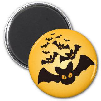 Battes éffrayantes de Halloween Aimant