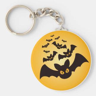 Battes éffrayantes de Halloween Porte-clés