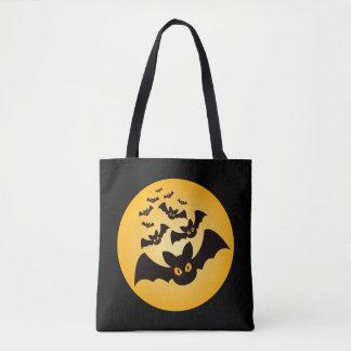 Battes éffrayantes de Halloween Tote Bag