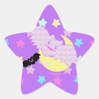 Battes étoilées sticker étoile