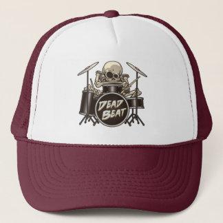 Batteur squelettique drôle casquette