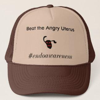 Battez l'utérus fâché casquette