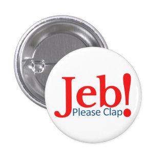 Battez svp pour le candidat présidentiel 2016 de badges