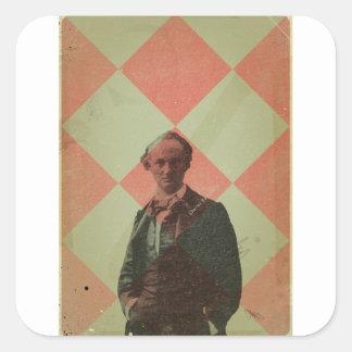 Baudelaire Sticker Carré