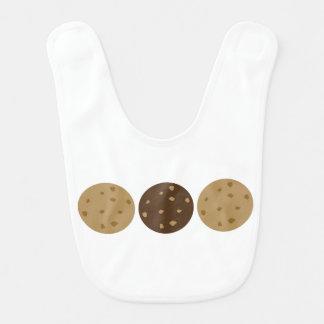 Bavoir 3 biscuits