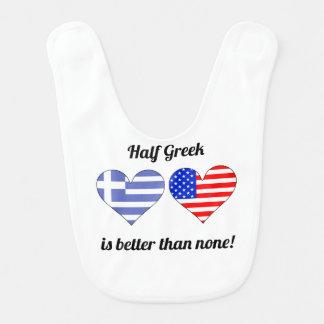 Bavoir À moitié grec est meilleur qu'aucun
