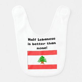 Bavoir À moitié libanais est meilleur qu'aucun