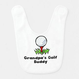 Bavoir Ami du golf du grand-papa