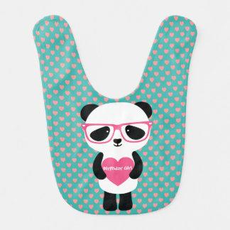 Bavoir Anniversaire mignon de panda
