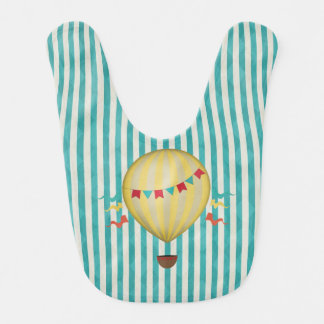 Bavoir Ballon à air chaud vintage