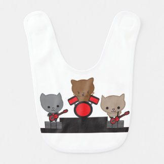 Bavoir Bande de Kawaii de chat de Kitty