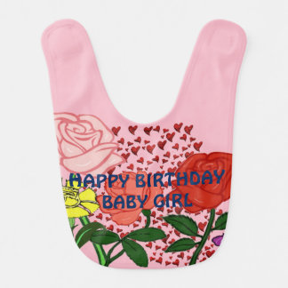 Bavoir Bébé de joyeux anniversaire