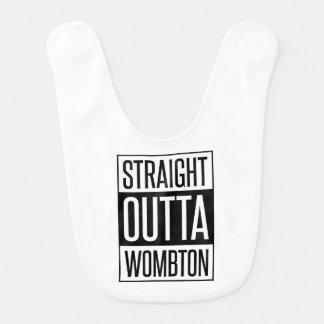 Bavoir Bébé drôle droit d'Outta Wombton