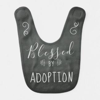 Bavoir Béni par adoption - l'accueil, adoptent le cadeau