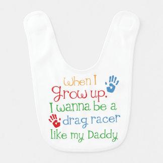Bavoir Cadeau de bébé de handprints de coureur d'entrave