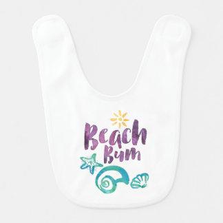 Bavoir Coquillages sans valeur de plage et vacances d'été