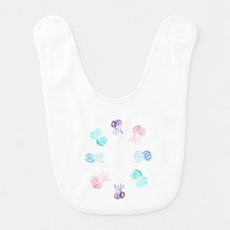 Bavoir de bébé de méduses