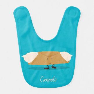 Bavoir de sourire de bébé du cannolo  