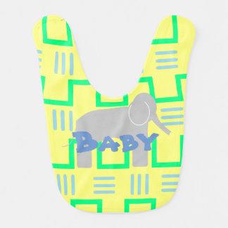 Bavoir d'éléphant de bébé