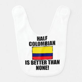 Bavoir Demi de colombien est meilleur qu'aucun