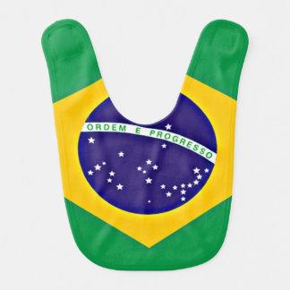 Bavoir Drapeau du Brésil