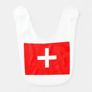 Bavoir Drapeau suisse
