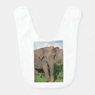 Bavoir Éléphant au Sri Lanka