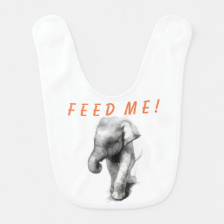 Bavoir Éléphant de bébé -