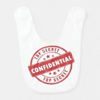 Bavoir Habillement confidentiel extrêmement secret de