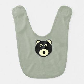 Bavoir infantile d'ours