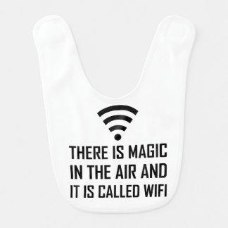 Bavoir La magie dans le ciel est Wifi