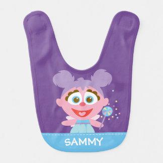 Bavoir Le bébé d'Abby Cadabby   ajoutent votre nom