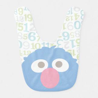 Bavoir Le bébé Grover font face