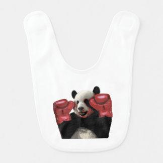 Bavoir Panda de boxe