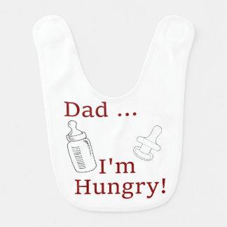 Bavoir Papa, j'ai faim - le Special de plaisanterie de